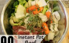 Easy Instant Pot Beef Bone Broth