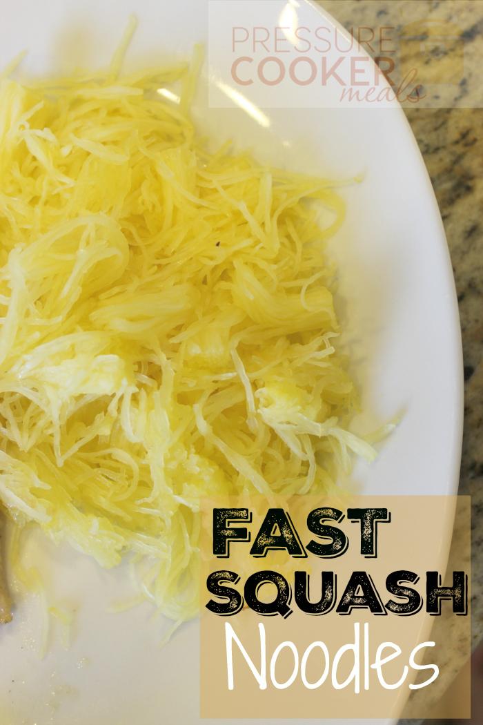Easy Pressure Cooker Spaghetti Squash