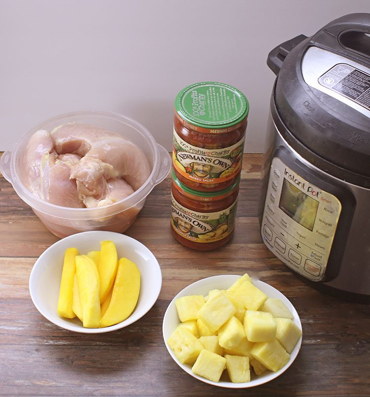 Instant Pot Pineapple Mango Chicken Ingredients