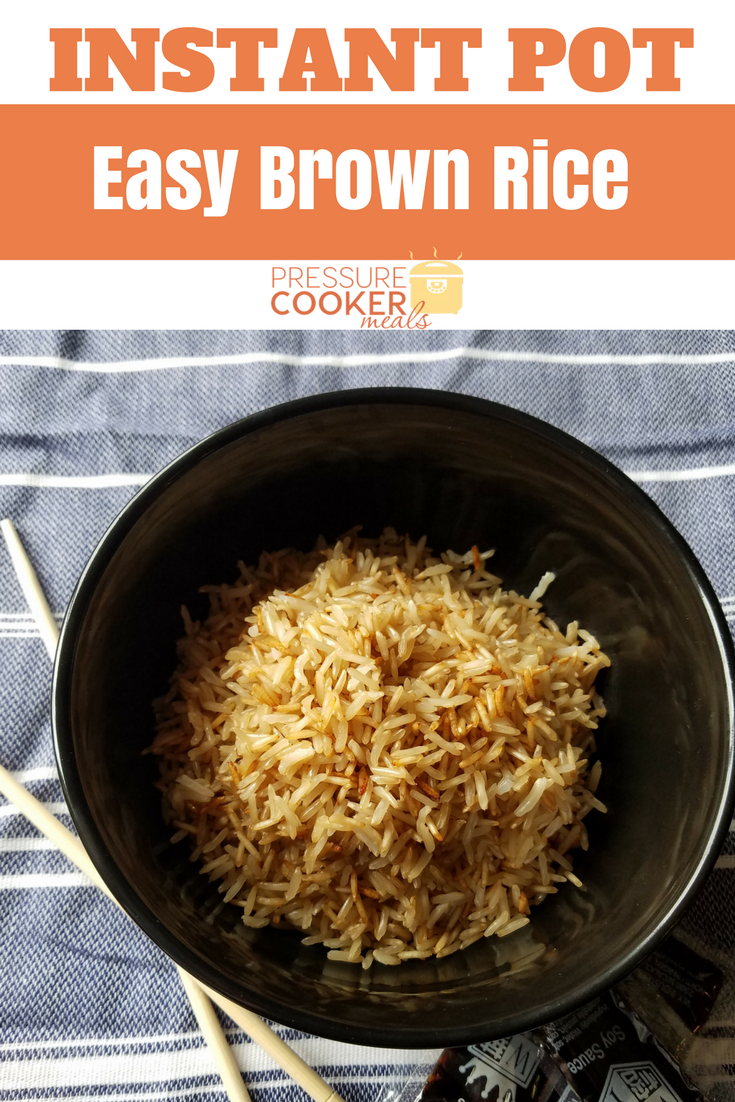 Instant Pot Brown Rice is a great staple recipe for your kitchen. This healthy and simple recipe will revolutionize meal prep for your family!