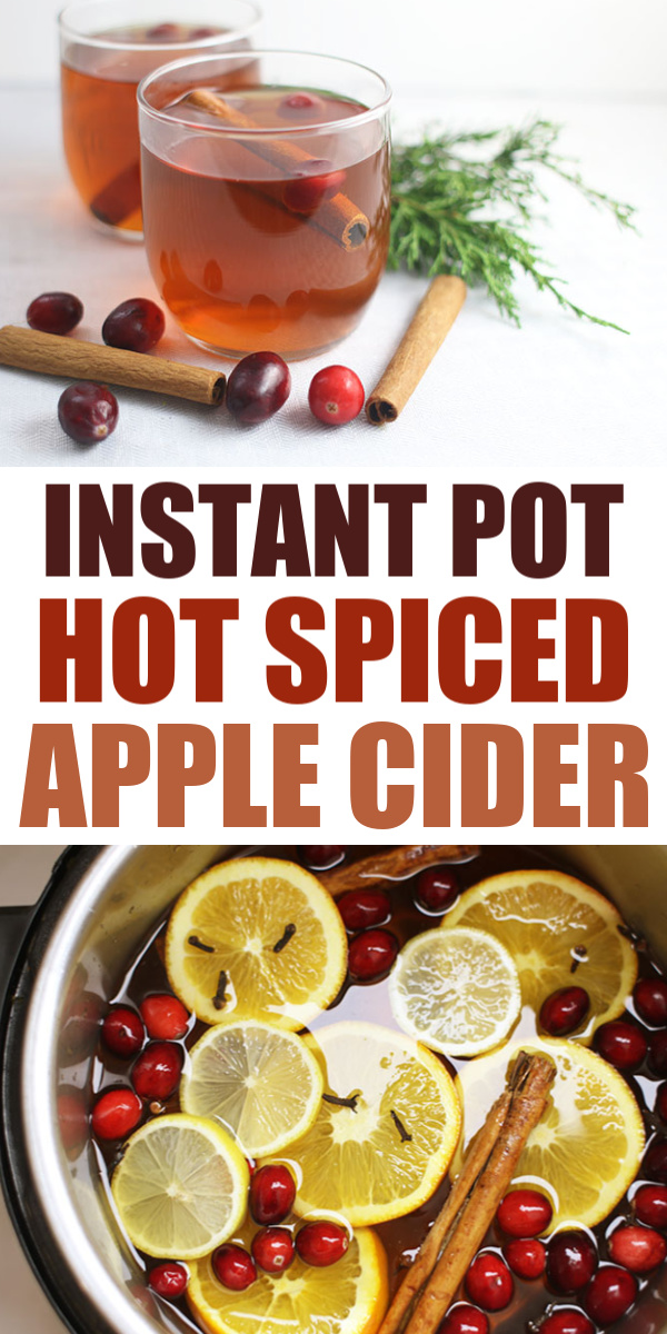 Instant Pot Hot Spiced Apple Cider Pin